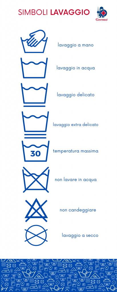 ETICHETTE STIRATURA LAVAGGIO